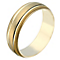 Men's 9ct Yellow Gold 6mm Milgrain Wedding Ring - Product number 2189992