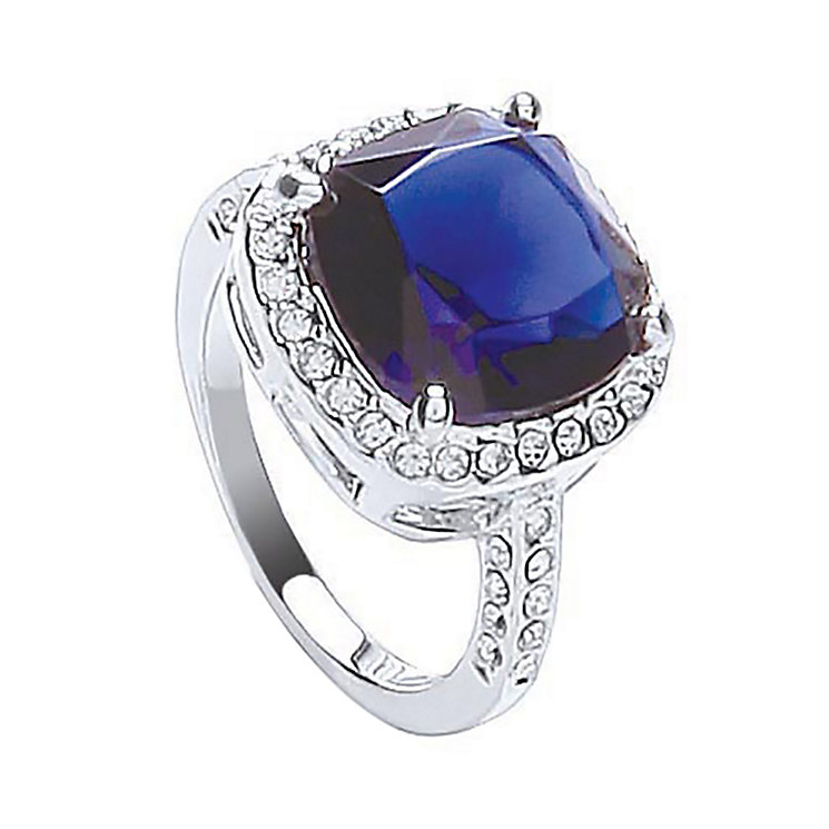 Attwood & Sawyer By Buckley Sapphire Blue Ring Large - Product number 2190281