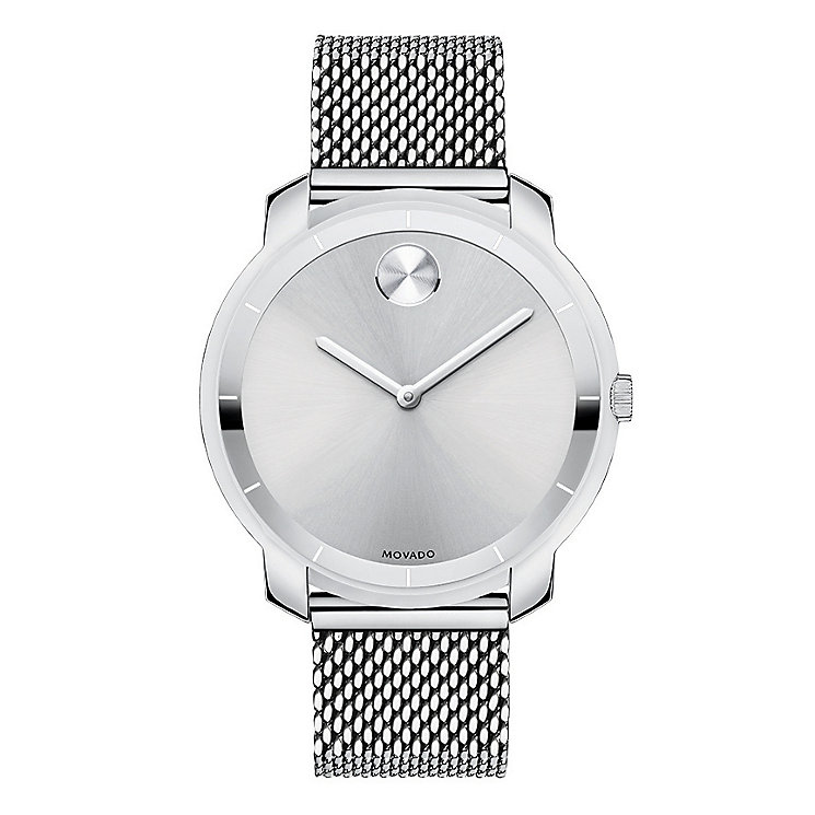 Movado Bold ladies' stainless steel mesh bracelet watch - Product number 2190613