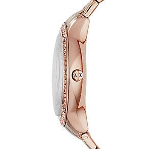 Armani Exchange Ladies' Active Multifunction Rose Watch - Product number 2190745