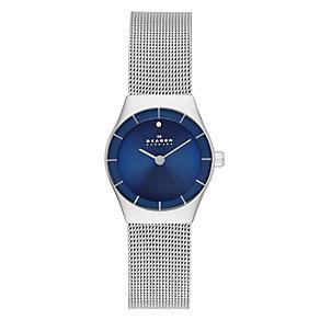 Skagen Ladies' Klassik Stainless Steel Mesh Bracelet Watch - Product number 2191415