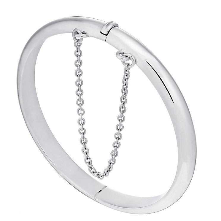 Children's Sterling Silver Hinged Bangle - Product number 2192608