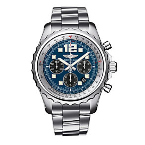 Breitling men's stainless steel chronograph bracelet watch - Product number 2205203