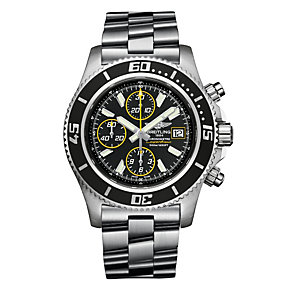 Breitling men's stainless steel chronograph bracelet watch - Product number 2205300