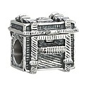 NEW! Chamilia Sterling Silver Steamer Trunk Bead - Product number 2207516