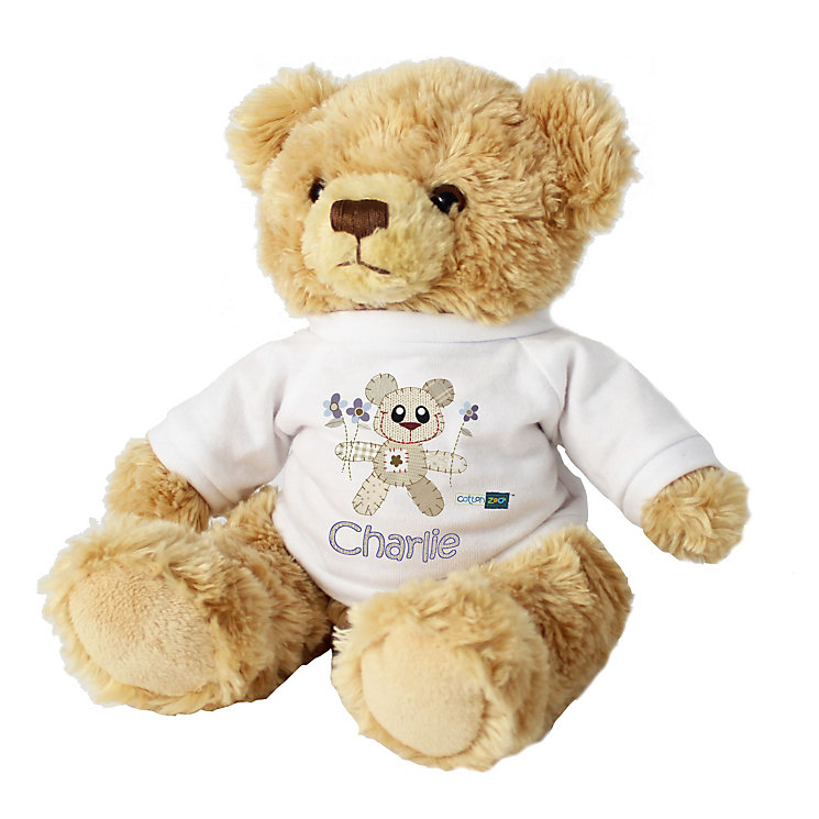 Cotton Zoo Tweed the Bear Boys Teddy - Product number 2210479