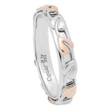 Clogau Gold silver & 9ct rose gold Tree of Life Ring size N - Product number 2211750