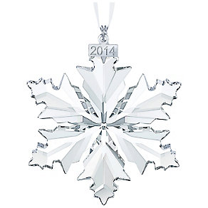 Swarovski Christmas Snow Flake 2014 Annual Edition - Product number 2214407
