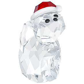 Swarovski Cat With Santa's Hat - Product number 2214466