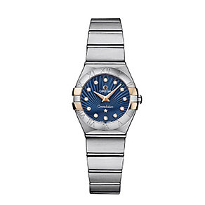 Omega Constellation ladies' 2 colour bracelet watch - Product number 2214822