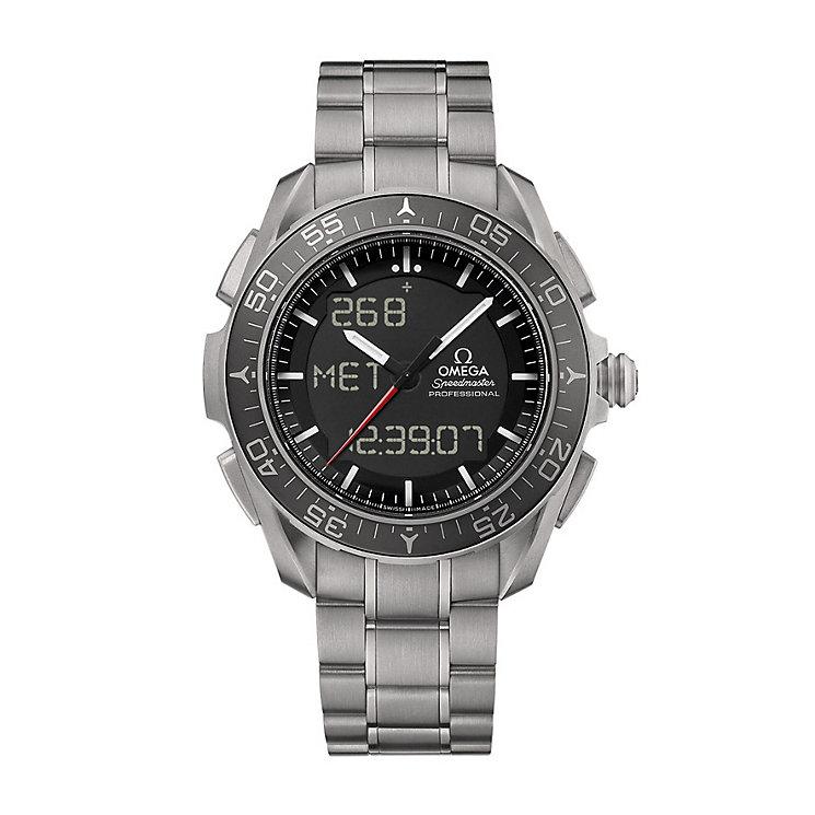 Omega Speedmaster Skywalker men's titanium bracelet watch - Product number 2214873