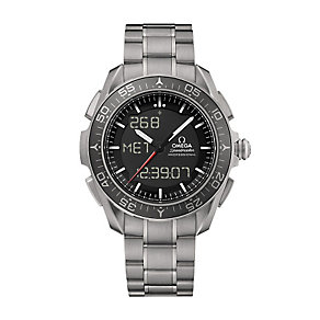 Omega Speedmaster men's titanium bracelet watch - Product number 2214873