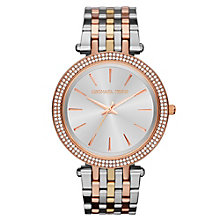Michael Kors' Ladies' Stone Set Three Colour Bracelet Watch - Product number 2215691