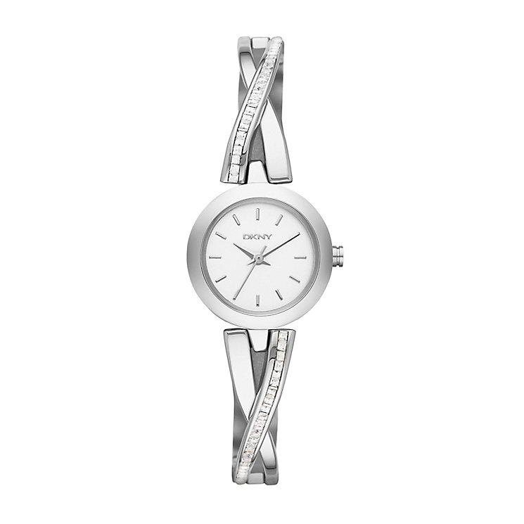 Dkny Crosswalk Ladies' Stainless Steel Bracelet Watch - Product number 2216078