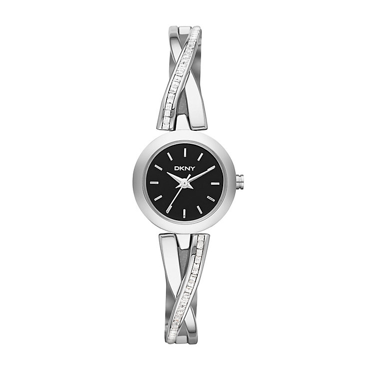 Dkny Ladies' Stainless Steel Crossover Bracelet Watch - Product number 2216086