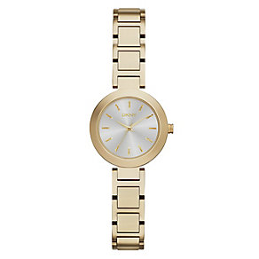 DKNY Stanhope ladies' gold-plated bracelet watch - Product number 2216175