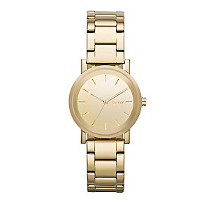 DKNY Soho ladies' gold-plated bracelet watch - Product number 2216221