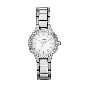 DKNY Chambers ladies' stone set bracelet watch - Product number 2216248