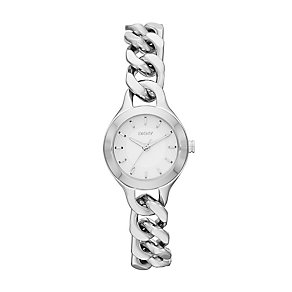 DKNY Chambers ladies' stainless steel bracelet watch - Product number 2216256