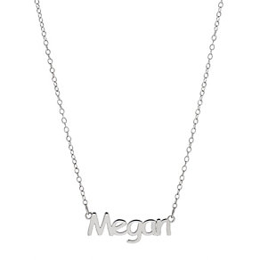 Children's Sterling Silver Megan 14