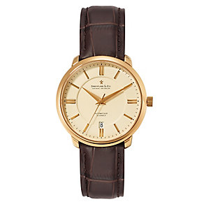 Dreyfuss & Co men's leather strap watch - Product number 2217724