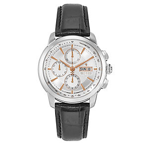 Dreyfuss & Co men's chronograph leather strap watch - Product number 2217759