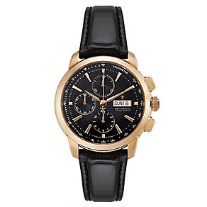 Dreyfuss & Co men's chronograph leather strap watch - Product number 2217775
