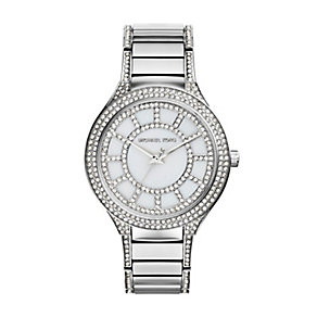 Michael Kors ladies' stainless steel bracelet watch - Product number 2219077