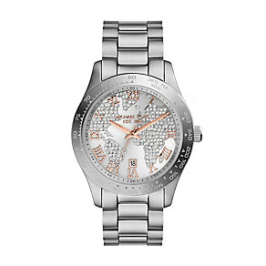 Michael Kors ladies' stainless steel bracelet watch - Product number 2219131