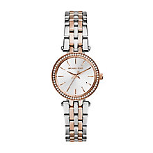 Michael Kors two colour stone set bracelet watch - Product number 2219204