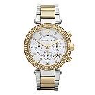 Michael Kors ladies' two colour bracelet watch - Product number 2219239