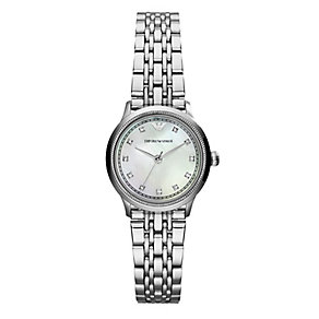 Emporio Armani Ladies' Stainless Steel Bracelet Watch - Product number 2219581