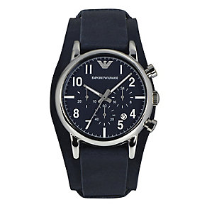 Emporio Armani men's navy cuff watch - Product number 2219662