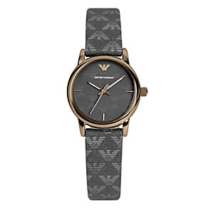 Emporio Armani Exclusive ladies' black fabric strap watch - Product number 2219697