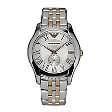 Emporio Armani Men's Two Colour Bracelet Watch - Product number 2219719