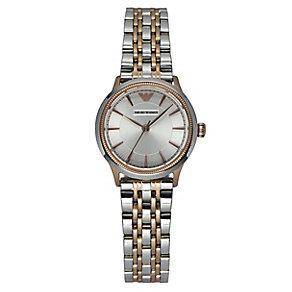 Emporio Armani ladies'  two colour bracelet watch - Product number 2219735