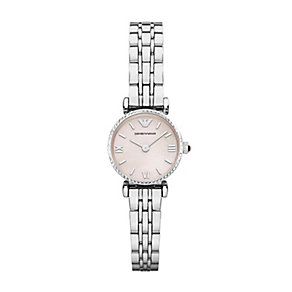Emporio Armani ladies' stainless steel bracelet watch - Product number 2219743