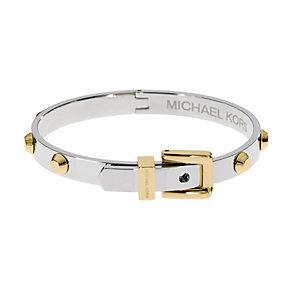 Michael Kors Two Colour Buckle Stud Bangle - Product number 2220296