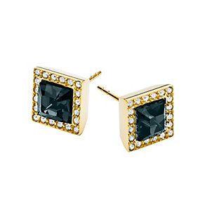 Michael Kors gold-plated blue stone set studs - Product number 2220466