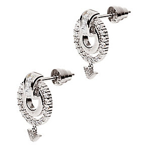 Emporio Armani sterling silver double ring earrings - Product number 2220636