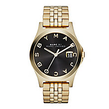 Marc Jacobs Ladies' Gold Tone Bracelet Watch - Product number 2221020