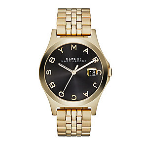 Marc by Marc Jacobs ladies' gold-plated bracelet watch - Product number 2221020