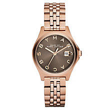 Marc Jacobs Ladies' Rose Gold Tone Bracelet Watch - Product number 2221055