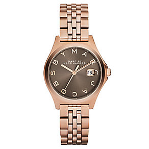 Marc By Marc Jacobs ladies' rose gold-plated bracelet watch - Product number 2221055
