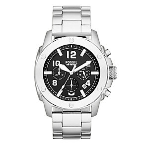 Fossil men's stainless steel chronograph bracelet watch - Product number 2221357