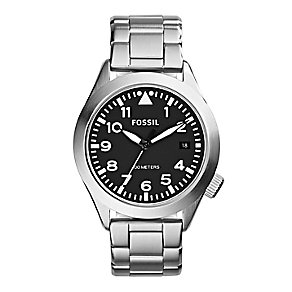 Fossil Aeroflite men's stainless steel bracelet watch - Product number 2221500