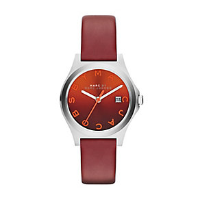 Marc by Marc Jacobs red leather strap watch - Product number 2222752