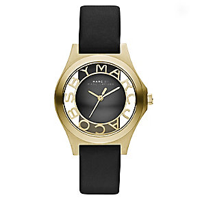 Marc By Marc Jacobs ladies' black leather strap watch - Product number 2222760