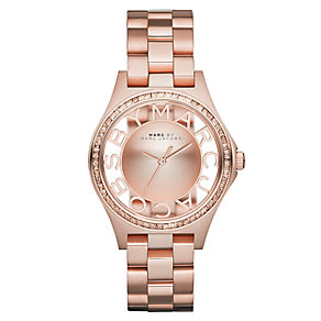 Marc By Marc Jacobs ladies' rose gold-plated bracelet watch - Product number 2222795