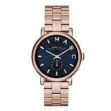 Marc Jacobs Ladies' Rose Gold Tone Bracelet Watch - Product number 2222809